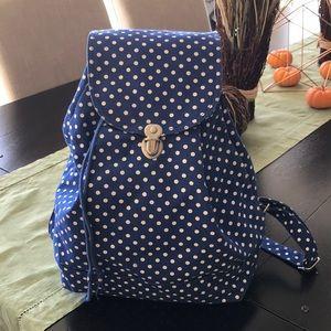 Baggu canvas backpack.